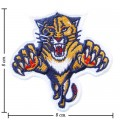 Florida Panthers Style-1 Embroidered Sew On Patch