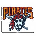 Pittsburgh Pirates Style-1 Embroidered Iron On/Sew On Patch