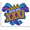 Super Bowl XXXI 1996 Style-31 Embroidered Sew On Patch