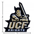 Central Florida Knights Style-1 Embroidered Iron On/Sew On Patch