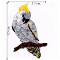 Cockatoo Style-2 Embroidered Sew On Patch
