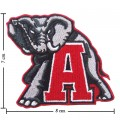 Alabama Crimson Tide Style-1 Embroidered Iron On/Sew On Patch