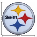 Pittsburgh Steelers Style-1 Embroidered Iron On/Sew On Patch
