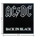 ACDC Music Band Style-3 Embroidered Sew On Patch