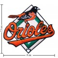Baltimore Orioles Style-1 Embroidered Iron On/Sew On Patch