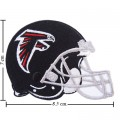 Atlanta Falcons Helmet Style-1 Embroidered Sew On Patch