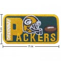 Green Bay Packers Style-2 Embroidered Iron On/Sew On Patch