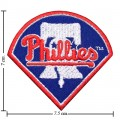 Philadelphia Phillies Style-1 Embroidered Sew On Patch