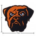 Cleveland Browns Style-1 Embroidered Sew On Patch