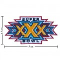 Super Bowl XXX 1995 Style-30 Embroidered Iron On/Sew On Patch