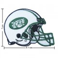 New York Jets Helmet Style-1 Embroidered Iron On/Sew On Patch