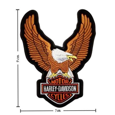 400 x 400 jpeg 106kB, Harley Davidson Upwing Eagle Brown Patches