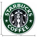 Starbucks Coffee Style-1 Embroidered Sew On Patch