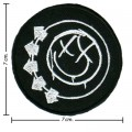 Blink 182 Music Band Style-1 Embroidered Sew On Patch