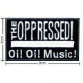 The Oppressed Music Band Style-1 Embroidered Sew On Patch