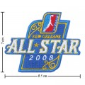 NBA D-League All-Star Game 2008 Embroidered Sew On Patch