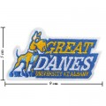 Albany Great Danes Style-1 Embroidered Sew On Patch