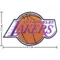 Los Angeles Lakers Style-1 Embroidered Sew On Patch