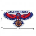 Atlanta Hawks Basketball Style-1 Embroidered Sew On Patch
