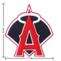 LA Angels Of Anaheim Style-2 Embroidered Iron On/Sew On Patch