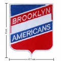 Brooklyn Americans The Past Style-1 Embroidered Sew On Patch