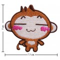 Cartoon YoYo Monkey Embroidered Sew On Patch