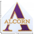 Alcorn State Braves Style-1 Embroidered Iron On/Sew On Patch