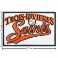 Trois-Rivieres Saints Style-1 Embroidered Iron On/Sew On Patch