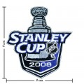 NHL Stanley Cup Playoffs 2008 Style-1 Embroidered Sew On Patch