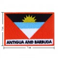 Antigua And Barbuda Nation Flag Style-2 Embroidered Sew On Patch