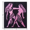 Roman Zodiac Gemini Embroidered Sew On Patch