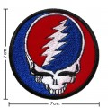 Grateful Dead Music Band Style-2 Embroidered Sew On Patch