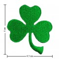 Irish Leaf Style-1 Embroidered Sew On Patch