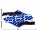 Southeastern Conference Style-1 Embroidered Iron On/Sew On Patch