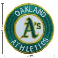 Oakland Athlitics Embroidered Iron On/Sew On Patch