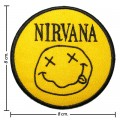 Nirvana Music Band Style-2 Embroidered Sew On Patch