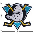 Anaheim Ducks The Past Style-1 Embroidered Sew On Patch