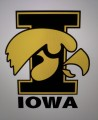 IOWA Style-2 Embroidered Iron On Patch