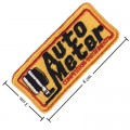 Auto Meter Style-1 Embroidered Sew On Patch