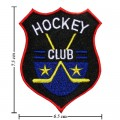 Hockey Club Style-1 Embroidered Sew On Patch