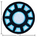 Iron Man Iron Arc Reactor Style-1 Embroidered Sew On Patch
