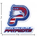 Fayetteville Patriots The Past Style-1 Embroidered Sew On Patch