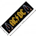 ACDC Music Band Style-1 Embroidered Sew On Patch