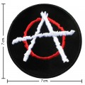 Punk Anarchy Music Band Style-2 Embroidered Sew On Patch