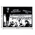 The Body Snatchers Music Band Style-1 Embroidered Sew On Patch