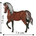 Horse Style-3 Embroidered Sew On Patch