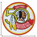 Washington Redskins 50th Seasons Embroidered Sew On Patch