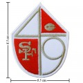 San Francisco 49ers Style-2 Embroidered Iron On/Sew On Patch