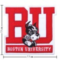 Boston University Terriers Style-1 Embroidered Iron On/Sew On Patch
