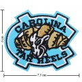 North Carolina Tar Heels Style-1 Embroidered Iron On/Sew On Patch